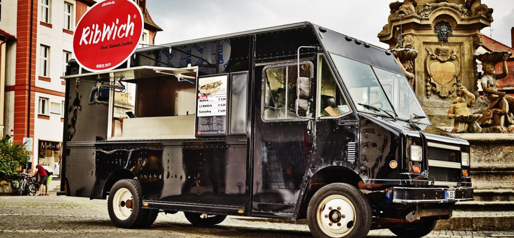 Der RibWich Food-Truck