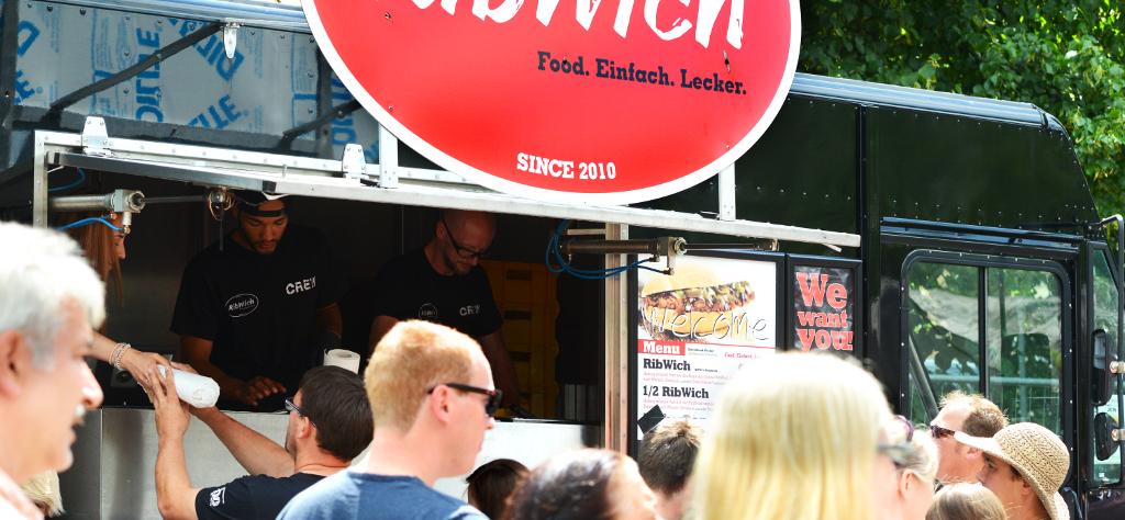 Street-Food Markt mit RibWich